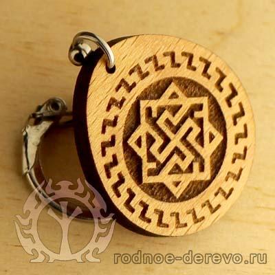 Брелок из дерева Валькирия - доставка по миру
