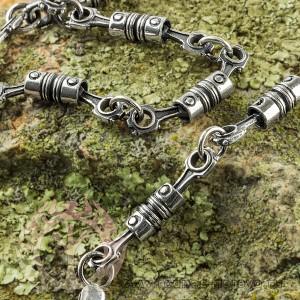 Цепь и браслет из серебра