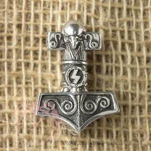 Молот Тора из серебра