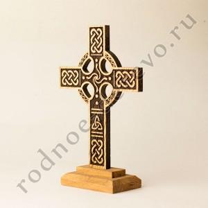 """Настольный кельтский крест из дуба """"Асгард"""""""