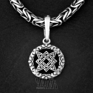 Звезда Руси из серебра, малая